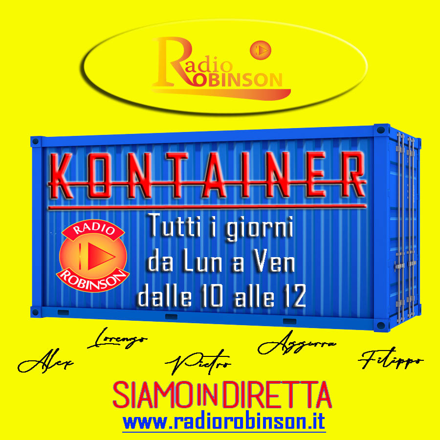 Kontainer - Trasmissione Radio Robinson